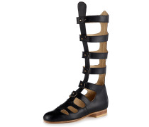 Pilgrim Sandals Black