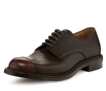 Charlie Derby Lace Up Shoes Burgundy/Walnut - UK 6