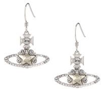 Astrid Drop Earrings Silver