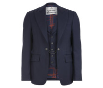 Waistcoat Jacket Navy