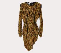 Twisted Wilma Dress Acid Animal Print