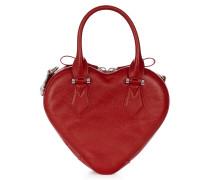 Anglomania Johanna Heart Handbag 42020028 Red