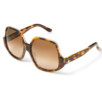 Tortoiseshell Reversed Frame Sunglasses VW50105