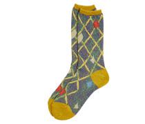 Geo Orb Socks Yellow One