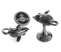 Mouse Cufflinks Gunmetal