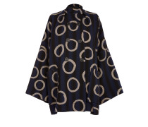 Anglomania Joan Peacoat In Blue Size S/M