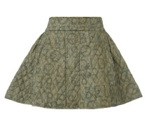 W.W. Miniskirt Quilted Gold Label -Olive