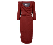 Virginia Midi Dress Red