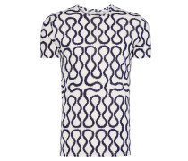 Navy/White Squiggle T-Shirt