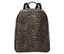 Anglomania Leopard Backpack 190038 Green