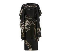 Floege Dress Black/Gold