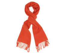 Classic Embroidered Scarf Orange