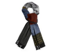 We Shawl Antipeople Blue/Grey/Red
