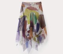Areola Skirt Giant Dots Print