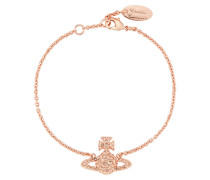 Grace Bas Relief Bracelet Light Peach