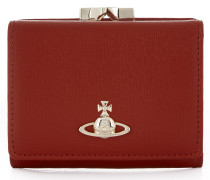 Saffiano Wallet With Coin Pocket 51010018 Red