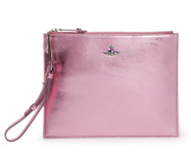 Venice Pink Leather Pouch 131236