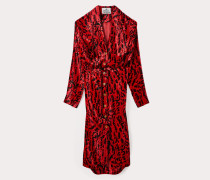 Wilma Dress Animal Jacquard