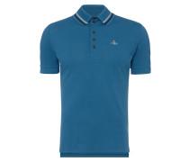 Krall Piquet Polo Shirt Blue