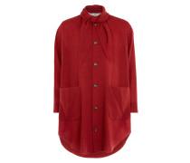 Hals Coat Red