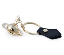 Gold 3D Orb Keyring 82030010 Black
