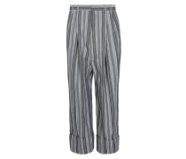 Gable Trousers Light Grey Stripes