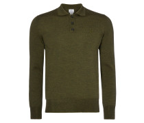 Green Classic Knit Polo