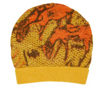Knitted Yellow Deer Beanie