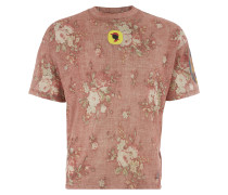 Moser T-Shirt Red Faded Old Roses