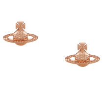Farah Earrings Pink Gold