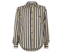 Piano Shirt Blue/Yellow Stripes