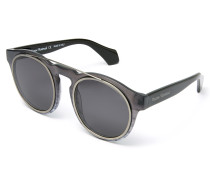 Overstructured Sunglasses Grey VW934S01