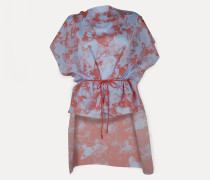 Beach Dress Coral Red