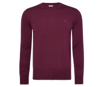 Purple Classic Crew Neck Jumper
