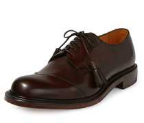 & Joseph Cheaney Battersea Toe Cap Shoes Mocha 6/39