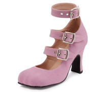 Vivienne Westwood Lilac Animal Toe 3-Straps