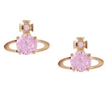 Reina Earrings Pink Gold