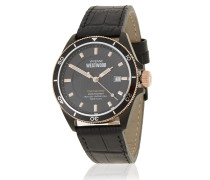 Black Spitalfields Watch - One