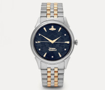 The Wallace Watch Blue/Silver