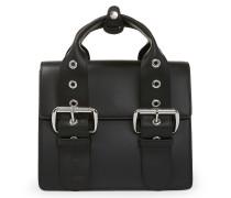 Alex Leather Handbag 131221 in Black