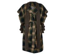 Dionysian Coat Black/Beige Tartan