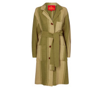 Green Stripe Worker Coat