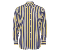 Classic Cutway Shirt Blue/Yellow Stripes