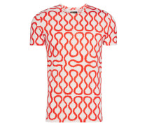 Red/ White Squiggle T-Shirt