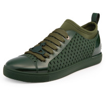 Low Top Orb Sneakers Dark Green