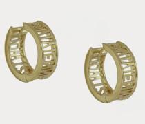Westminster Earrings Gold-Tone