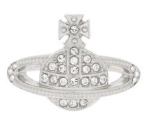 Anglomania Mini Orb Silver Ring