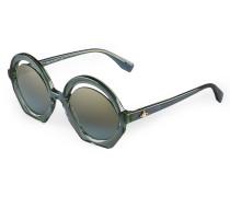 Crescent-Cut Sunglasses Green VW956S3TBG One