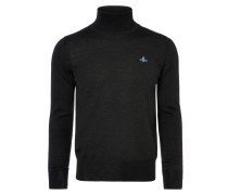 Fine Turtleneck Jumper Black