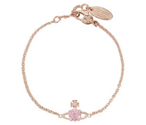 Reina Small Bracelet Pink Gold